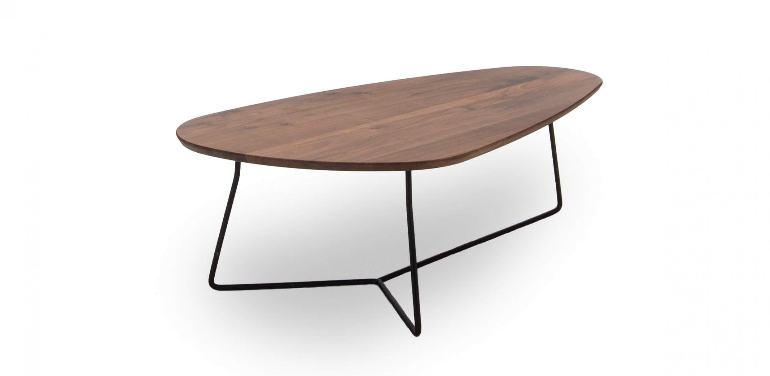 Luna tafel hout 110cm Dyyk